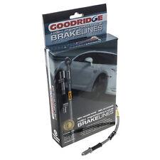 Mazda MX5 - Mk2 Mk2.5 - Brake hose set Clear Stainless steel braided - Goodridge