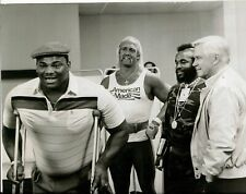 Hulk Hogan The A Team Black And White 8x10 Picture Celebrity Print