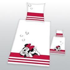 HERDING Linge de lit Disney's Minnie Mouse / partnerbettwäsche. 80 x 80 cm + 135