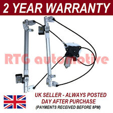 FOR LAND ROVER FREELANDER REAR TAILGATE BACK WINDOW REGULATOR WITH INC. MOTOR