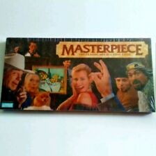 Masterpiece Board Game Marvin Glass Collectible Classic Art Auction Game SEALED