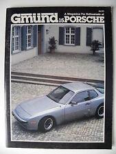 Revue Automobile Gmund PORSCHE n° 15 en anglais USA