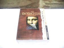 The Da Vinci Code Complete DVD Deluxe Box Set Japanese Edition + Goodies - RARE
