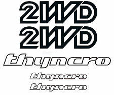 VW 2WD THYNCRO (syncro font)  Decal Sticker set 1986-91, Volkswagen, Vanagon