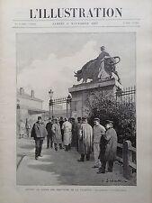 L'ILLUSTRATION 1897 N 2854 LA GREVE DES ABATTOIRS DE LA VILLETTE, LES GREVISTES