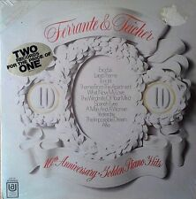 FERRANTE &TEICHER - 10TH ANNIVERSARY / GOLDEN PIANO HITS - UA -2 LP SET - SEALED