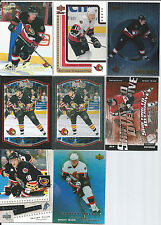 Marian Hossa  All Different 8-Lot w/ RC + 2 = 10-Cardes in All