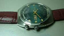 VINTAGE ORIENT AUTOMATIC DAY DATE MONTH WEEK YEAR WRIST WATCH Y793 USED ANTIQUE