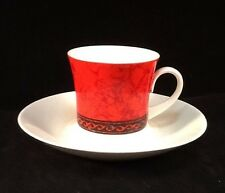 Flamenco By Block ~ Demitasse Cup With Scroll & Plain Saucer (No Mark on Saucer)