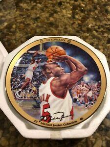 "Michael Jordan Collection ""The Comeback"" Upper Deck Bradford Collector Plate"