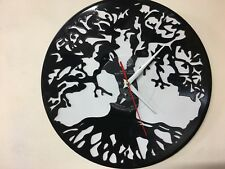 Repurposed Vinyl Record Clocks and Wall Art- Tree Of Life-2