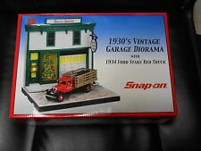 Snap-On 1930's Vintage Garage Diorama
