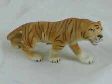 Tierplastik Figur Tiger Porzellan Royal Dux Bohemia