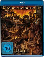 HYPOCRISY - HELL OVER SOFIA - 20 YEARS OF CHAOS AND CONFUSION  BLU-RAY NEW+