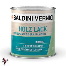 Impregnante all acqua per legno a cera cerato Baldini Vernici Holz Lack 750 ml