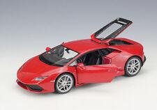 Welly 1:24 Lamborghini Huracan LP610-4 Diecast Model Vehicle Car Red New in box