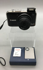 Canon PowerShot SX230 HS 12.1MP Digital Camera - Black - Bundle Fast Ship - G07