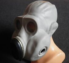 USSR CCCP russian military paratrooper gas mask EO-19 PBF Grey rubber mask