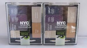 Two Pack NYC Individual Eyes Created For Green Eyes 947 SoHo Grand