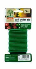 Plant Twist Ties 6m Support Soft Reusable Bendy Twine Garden Wire Flexible Tie