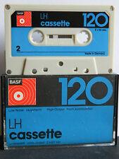 BASF LH  C 120 Low Noise  Compact Cassette 1974-1975 Audio-Cassette Tape MC 4*