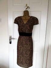 "FABULOUS WIGGLE/PENCIL DRESS BY PER UNA UK-12 BUST 36"" HIPS 38"" LENGTH 41"""