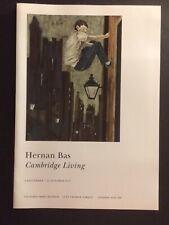 HERNAN BAS, large exhibition brochure, 2016