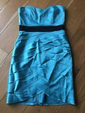 Jane Norman Size 10 Christmas Party Occasion Dress Blue/Green FREE SHIPPING!