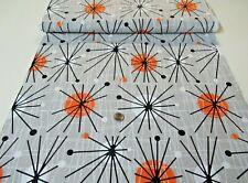New listing Michael Miller quilt-craft fabric Atomic Orbs wind 2/3 yd (cx-5440) LastPc