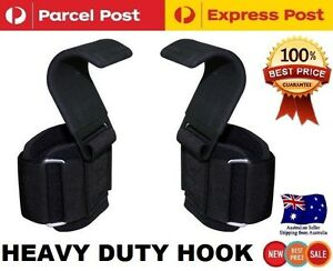 WEIGHT LIFTING POWER HOOKS POWER GRIPS WRIST SUPPORT WEIGHTLIFTING BAR STRAPS