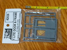 Tichy Train Group #2038 (O Scale) 1 Lite Door/Frame 2/