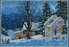 Counted Cross Stitch Kit  QUIET NIGHT Christmas Dimensions Gold Collection
