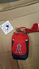 Los Angeles Angels MLB Purse Plus Touch Phone  ID Wallet Charm 14 Gift Bag
