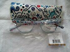 NEW VERA Bradley Readers Reading Eyeglasses TAMARA -SEA LIFE +1.50