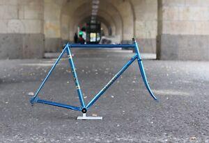 Rickert Spezial Reynolds 531 Rennrad Rahmen / 54 cm Blau / 2.529g Hugo œ Cinelli