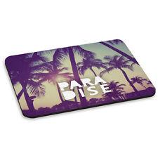PARADISE Palm Trees Holiday Sunshine Summer Sun PC Computer Mouse Mat Pad