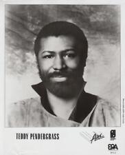 Teddy Pendergrass-  Music Memorabilia Photo