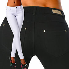 Sexy Women's Stretchy Low Waist Hipsters Trousers Skinny Slim F 488