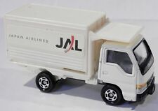 Tomica #83 Isuzu Elf Japan Airlines Box Delivery High-Lift Scissor Truck 1:68