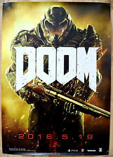 DOOM RARE PS4 XBOX ONE 51.5 cm x 73 Japanese Promo Poster