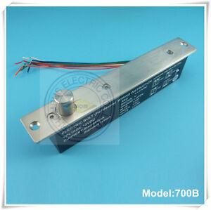 Magnetic sensor fail secure delay adjustable power-off-Lock 1Kkg bolts locks