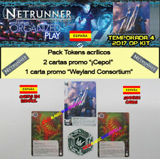 ANDROID NETRUNNER 2017 T4 OP KIT ESPAÑOL - Weyland Consortium + 2 Cepo + Tokens