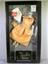 NIB FRANKLIN MINT THE JACKIE DOLL ACCESSORIES OUTFIT FASHION PEACH DRESS