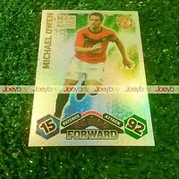 09/10 MAN OF THE MATCH CARDS MATCH ATTAX 2009 2010 FROM ALL 60