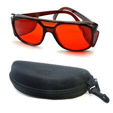 OD4+ Safety Glasses For 532nm Green Laser Diode Module Protective Goggles Box