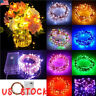 20/50/100 LED AA Battery Operated LED Copper Wire String Fairy Lights Xmas Party