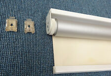 New Child Safe chainless roller blind; colour: ivory(front)/silver(back)