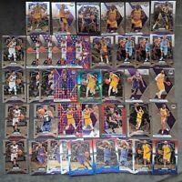 2019/2020 LA Lakers MASSIVE 39-Card Lot incl Magic, Kareem, Kuzma, Rondo, Shaq