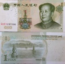 CHINA 1999 1 YUAN P-895 UNCIRCULATED BANKNOTE  MAO TSE TUNG FROM A USA SELLER !!