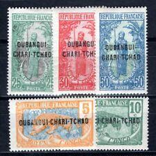 OUBANGUI 1922 Yvert 20-24 meist ** POSTFRISCH SCHÖNER SATZ (I3122